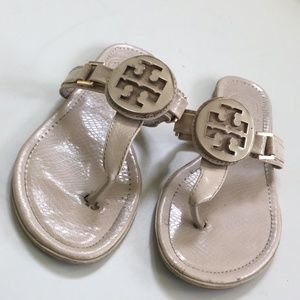 Beige Tory Burch Sandals